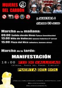 13J MUJERES DEL CARBÓN desde RIVAS ¡EN MARCHA!